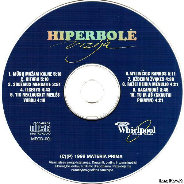 Hiperbolė - Vizija